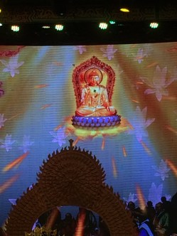 Nazi Buddha rains fire from the sky