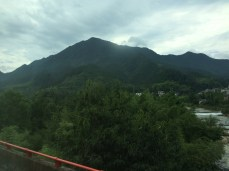 Mountains out of Huangshan