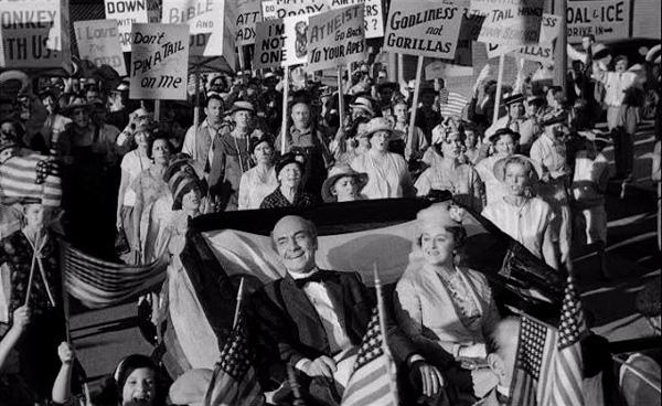 "The movie's parade for ""Brady"""