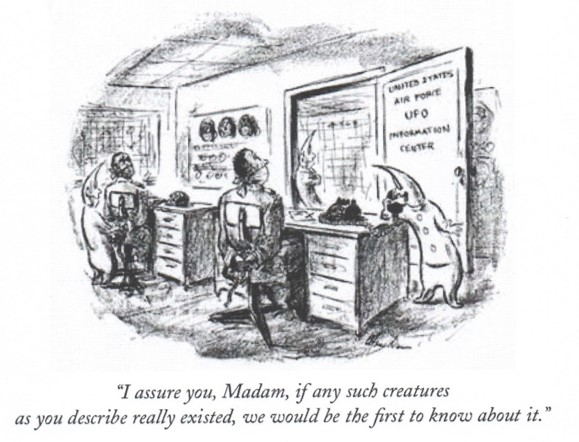 Aliens New Yorker