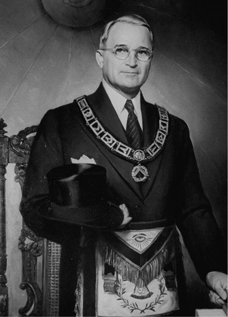 truman-freemasonic-garb