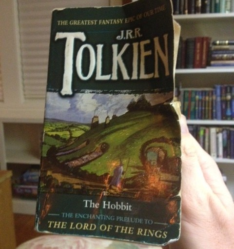 Reading The Hobbit to a Nine-Year-Old is Golden