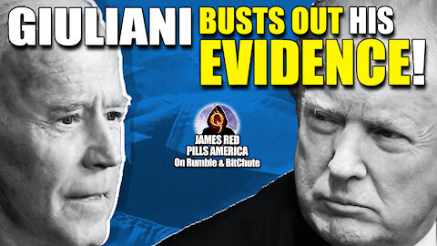 MOAB! Giuliani Presents MOUNTING EVIDENCE for President Trump's Legal Battle: Biden Not Pres Elect!