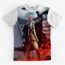 Trump 1776 Merchandise Standard T-Shirt Front