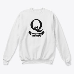 Qanon Rabbit Wwg1 Wga Shirts & Hoodies White  T-Shirt Front