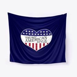 Trump American Style Merchandise Dark Navy T-Shirt Front