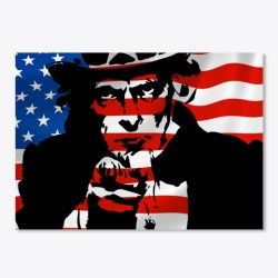 Uncle Sam Needs You Merchandise White T-Shirt Front