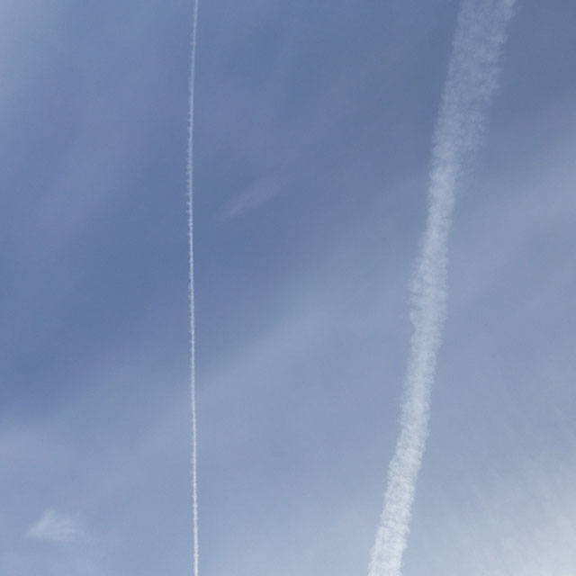 White Skies and Chemtrails over Lynnwood 3-5-2015