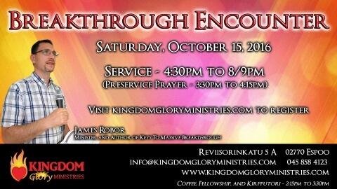 Upcoming Event: Breakthrough Encounter