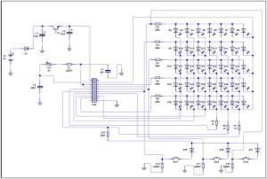 LED Display Kit – Circuit Diagram | ED217 Technologies