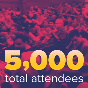5000 attendees