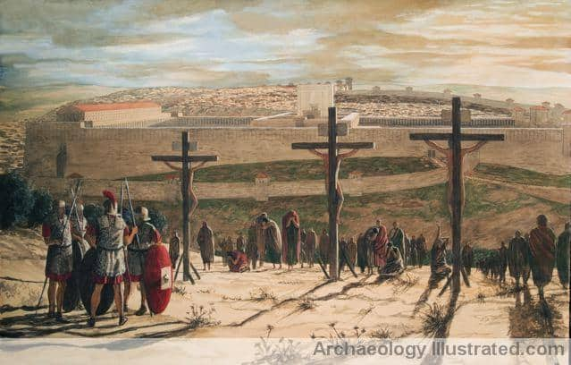 Crucifixion Scene by Balage Balogh