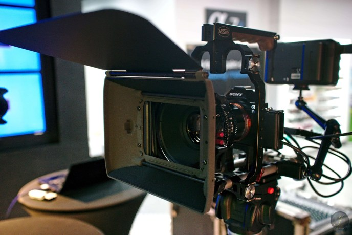 Sony Alpha A7S Equipped with 4K Recording Accessories