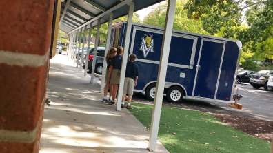 The School Spirit trailer.