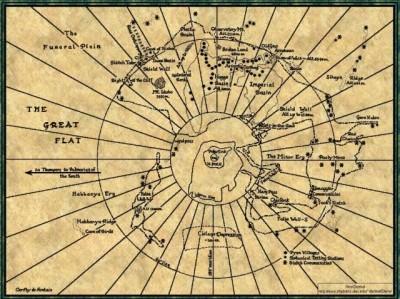Map of Frank Herbert's Dune