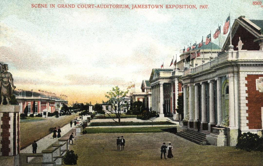 06PCJamestown Exposition00212 - Scene in Grand Court copy