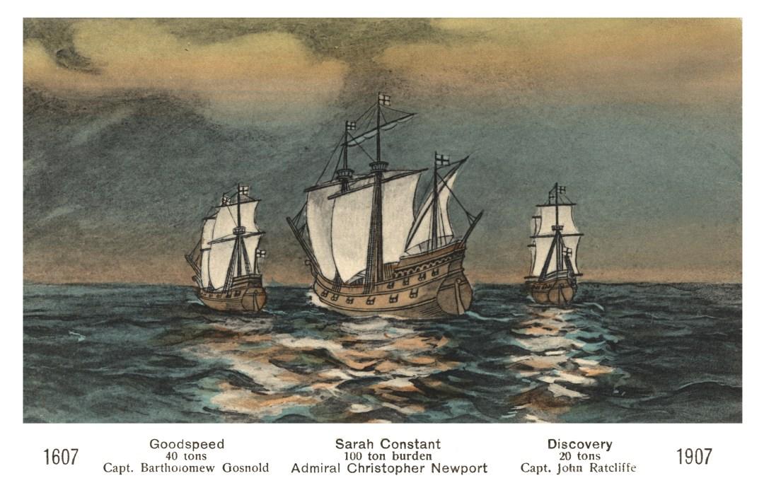 06PCJamestown Exposition00215 - Three Ships copy