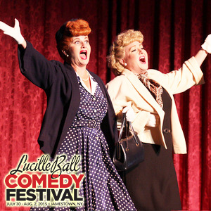 Meet Lucy and Ethel impersonators Diane Vincent and  Rhonda Medina during their brunch and dinner shows. Photo Credit: www.lucycomedyfest.com
