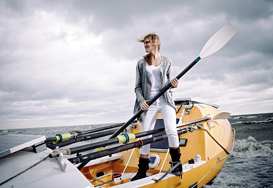 Katie Spotz will speak at the Chautauqua Lake Rowing Association's 10th Anniversary on Feb. 8.