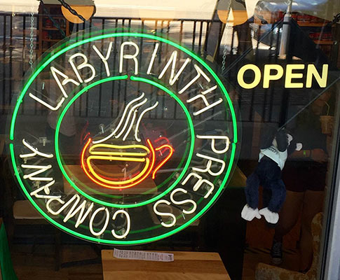 Labyrinth Press Company, located on 4th Street in Jamestown.