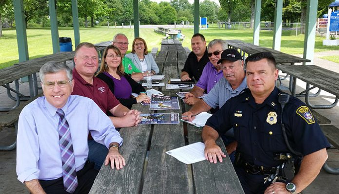 2016 Labor Day Fest Organizing Committee Holds Final Planning Meeting at Bergman Park.