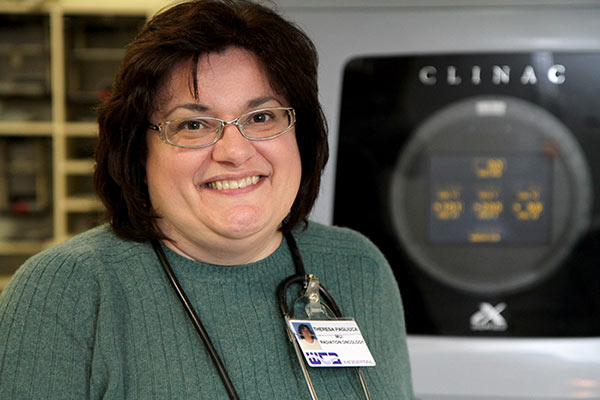 Theresa Pagliuca, MD, board-certified radiation oncologist at the WCA Cancer Treatment Center.