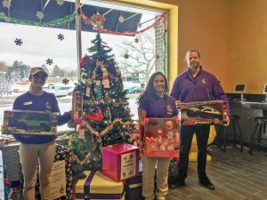 The Salvation Army Angel Tree located at Planet Fitness was a success in 2018.  Make a child's Christmas by surprising them with gifts this year.