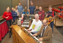 Music Industry faculty members and students.