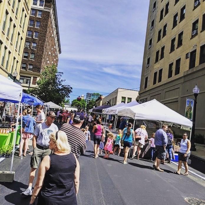 Jamestown Public Market in 2019 season.