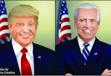 The 2020 Presidential race is between Republican incumbent Donald J. Trump and Democratic challenger former Vice President Joe Biden.