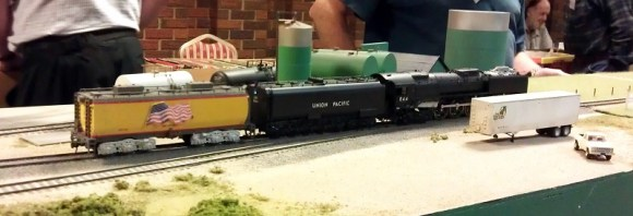 BR HO Modular Group With UP Tender - NMRA 2014 7