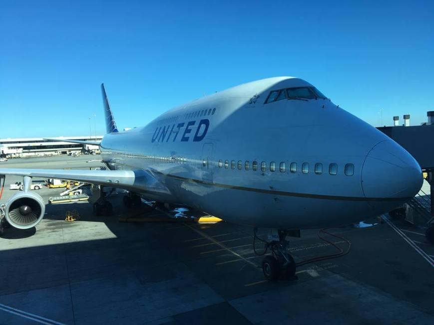 United 747 James Van Dellen Denver