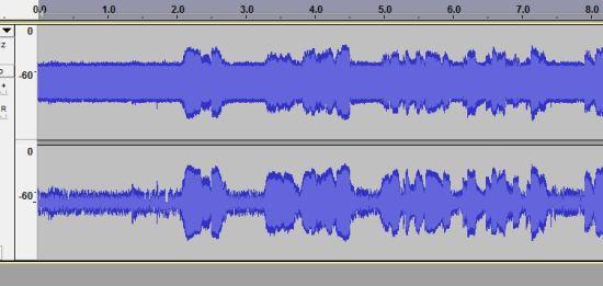 E-Learning Mic Zoom H1 Original Waveform