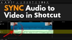 Sync Audio and Video Shotcut Thumbnail