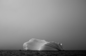 Iceberg off Pangnirtung, Nunavut