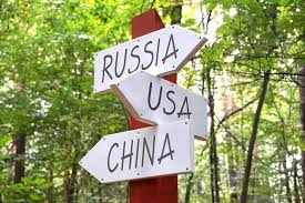 Russia - USA - China