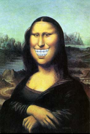 The Mona Lisa if developed using a focus group