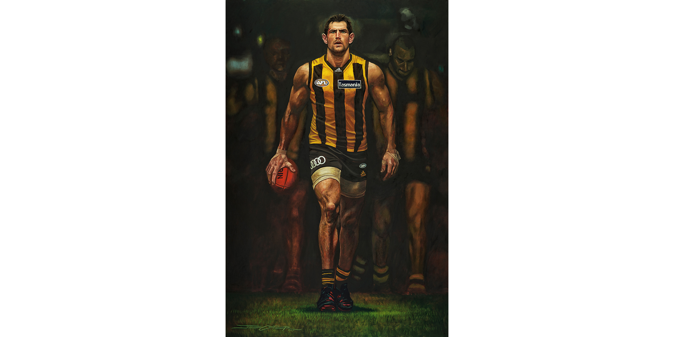 cheap for discount f01d8 38d07 Luke Hodge – Warrior – Jamie Cooper
