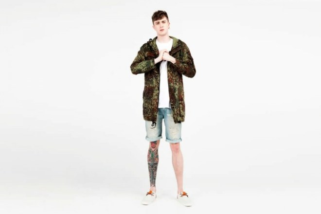 Bershka Menswear S/S14  Lookbook Update
