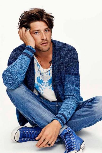 Scotch & Soda Amsterdam Blauw Resort 2015 Menswear Lookbook