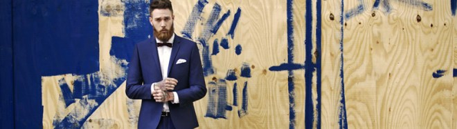 Moss Bross Debut Their 'Moss London' AW14 Menswear Collection menswear mensfashion suiting tailoring fashion menswear bearded model Billy Huxley