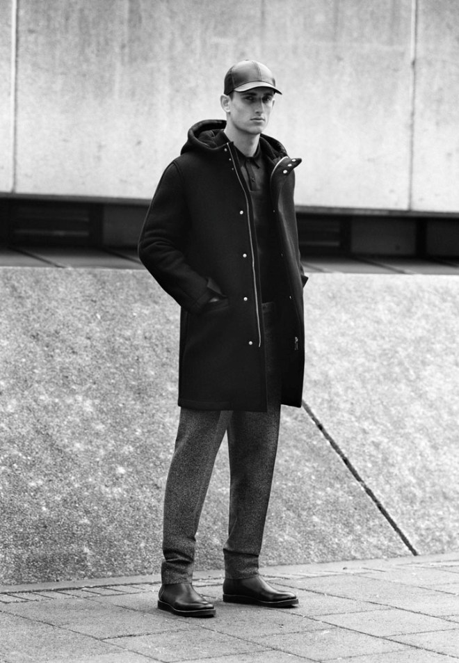 COS A/W14 Menswear Campaign outerwear coat jacket cos hm h&m zara menswear mensfashion style outfit wiwt ootd COS