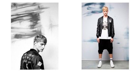 Bershka 'September' Menswear Lookbook A/W14 pull and bear zara inditex male model hunk fashion style menswear mensfashion lookbook collection autumn winter