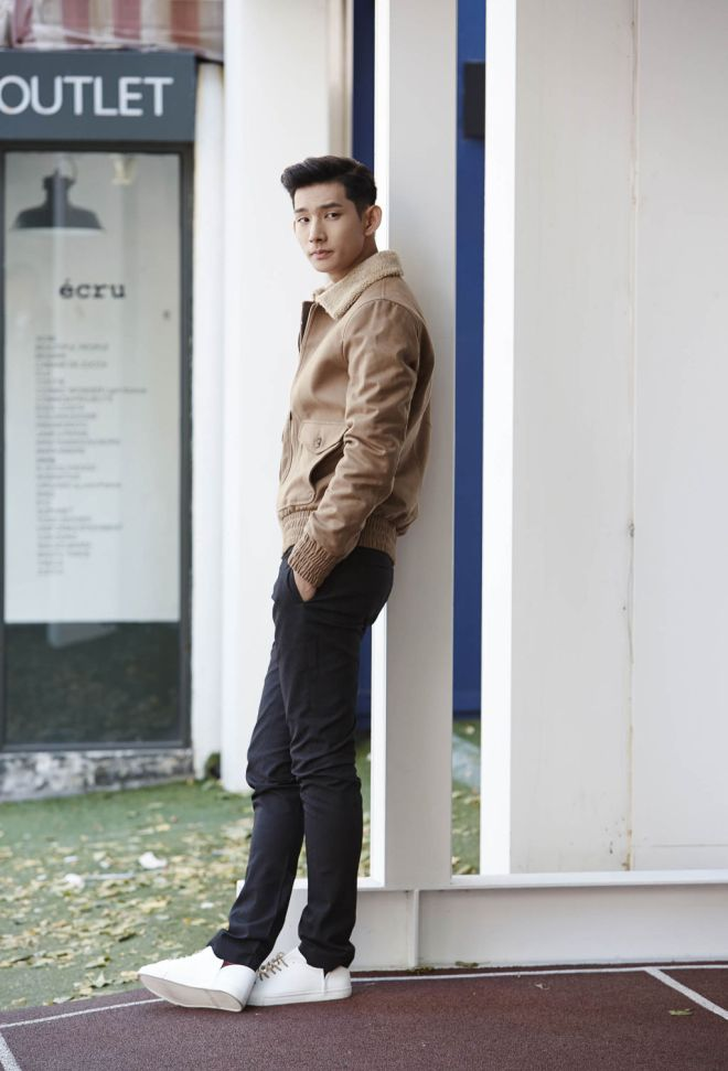 Zara Man A/W14 'Pictures' Lookbook Update. khaki jacket coat outerwear outfit ootd wiwt whatimwearing blogger fbloggers