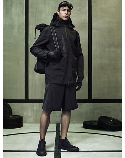Alexander Wang For H&M Full Menswear Lookbook #AlexanderWangxHM menswear mensfashion lookbook all black outfit