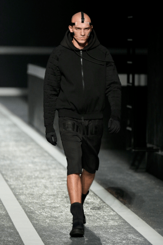 Alexander Wang For H&M Menswear Collection #AlexanderWangXHM hoodie accessories leather black mesh menswear mensfashion mens collection lookbook outfit