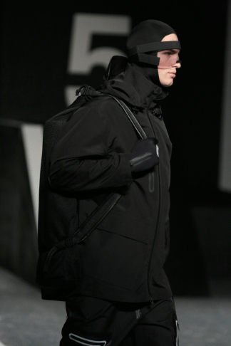 Alexander Wang For H&M Menswear Collection #AlexanderWangXHM all black everything neoprene leather mesh alexander wang for H&M