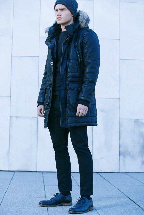 HE By Mango A/W14 November Lookbook Update. fashion style menswear mensfashion lookbook collection jacket coat puffa coat parka mango zara
