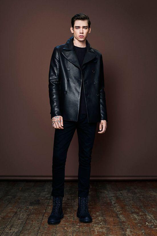 AllSaints Christmas 2014 Menswear Lookbook menswear mensfashion autumn winter 2014 aw leather style fashion lookbook collection