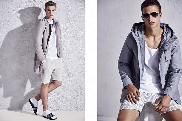 River Island S/S15 Menswear Lookbook spring summer 2015 collection lookbook style fashion menswear mensfashion outfit